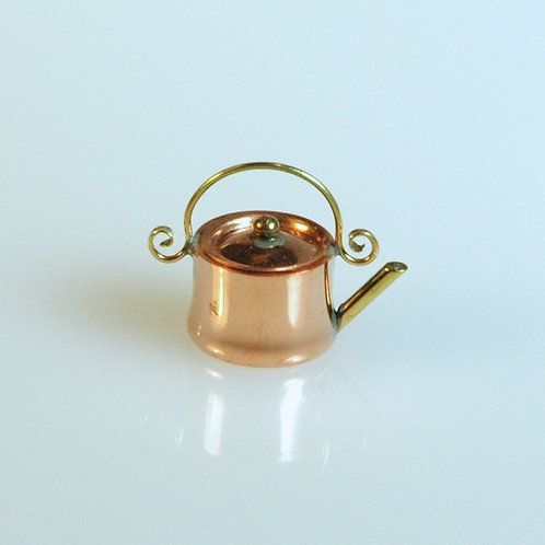 Round Copper Tea Kettle