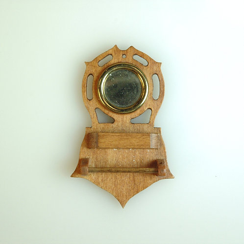 Vintage Captain's Shaving Mirror