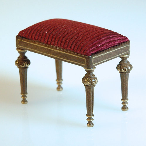 Upholstered Piano Bench