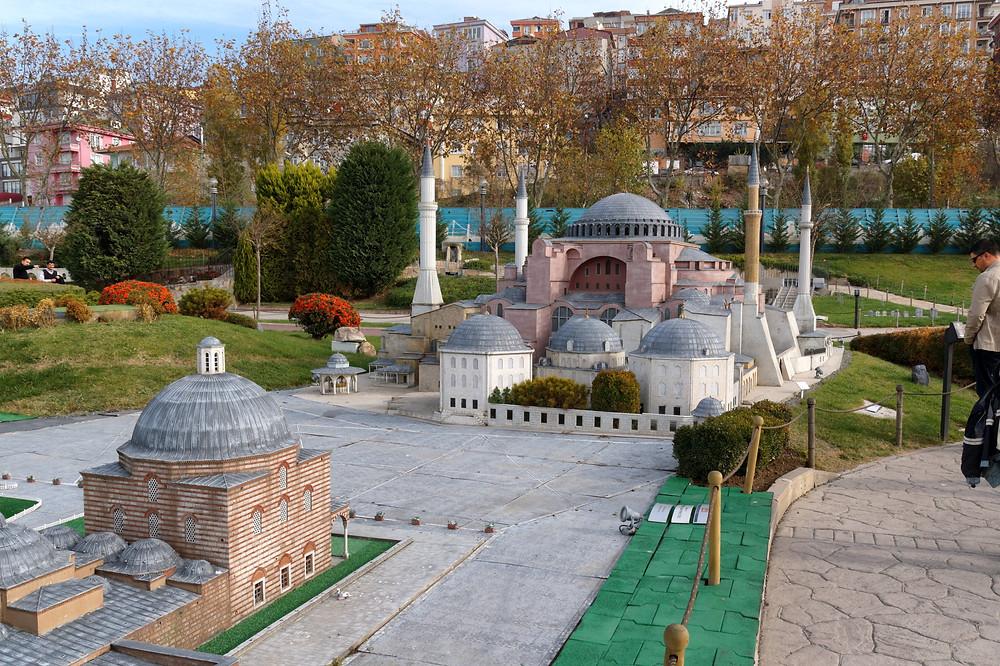 Hagia Sophia in 1:25th scale