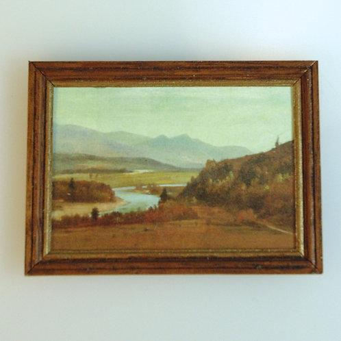 Handframed Landscape Print