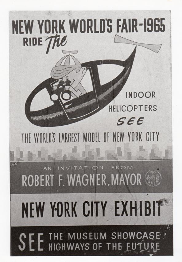 Flyer from original exhibit