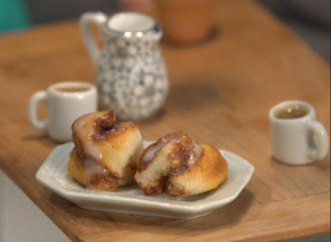 CBS Sunday Morning Creating Food for Tiny Kitchen