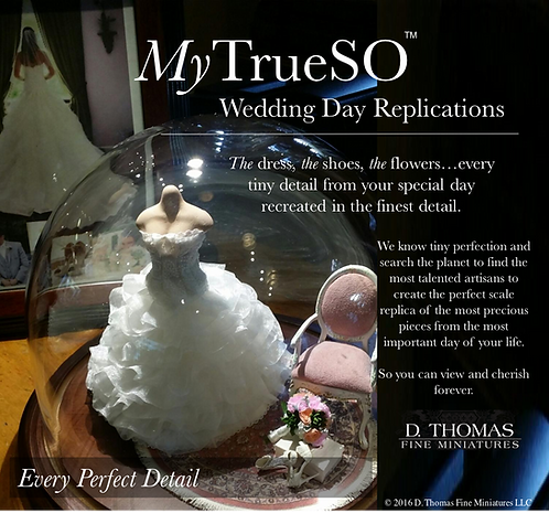 My TrueSo Wedding Day Replication