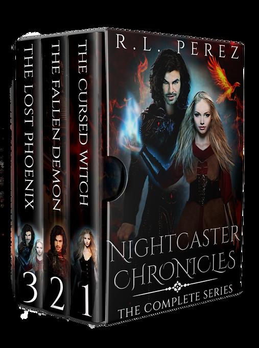 Nightcaster Chronicles Box Set Covervaul