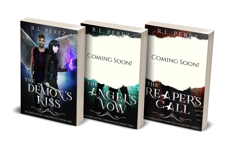 bloodcaster chronicles with temp covers.