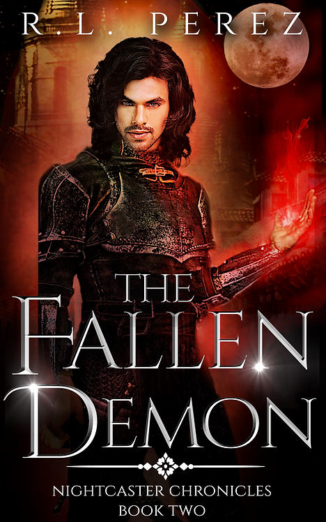 Signed Copy of The Fallen Demon