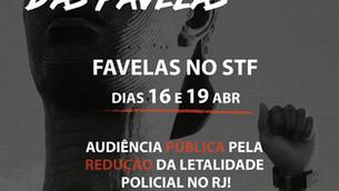 ✊🏾Favelas no STF!