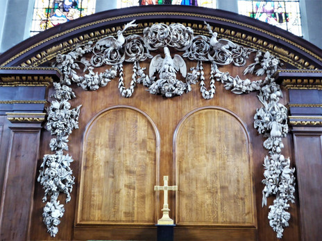 Shell House Showcase: St James's Church, Piccadilly