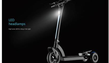 Scooter électrique 3 roues - Wing 3 - I-Walk