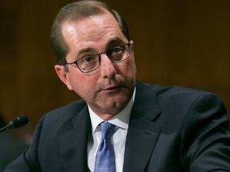 Senators Question HHS Nominees Alex Azar on Reducing Drug Prices