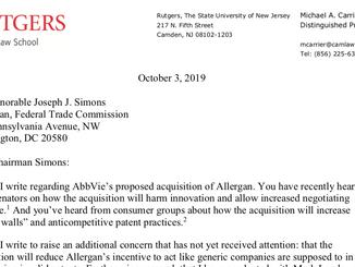 Concerns Mount About AbbVie-Allergan Merger
