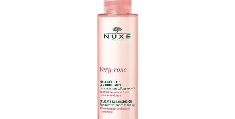 Nuxe Very Rose delicate cleansing oil