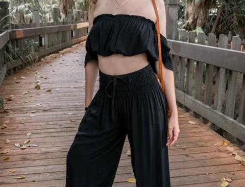 Black is the New Black yoga pants