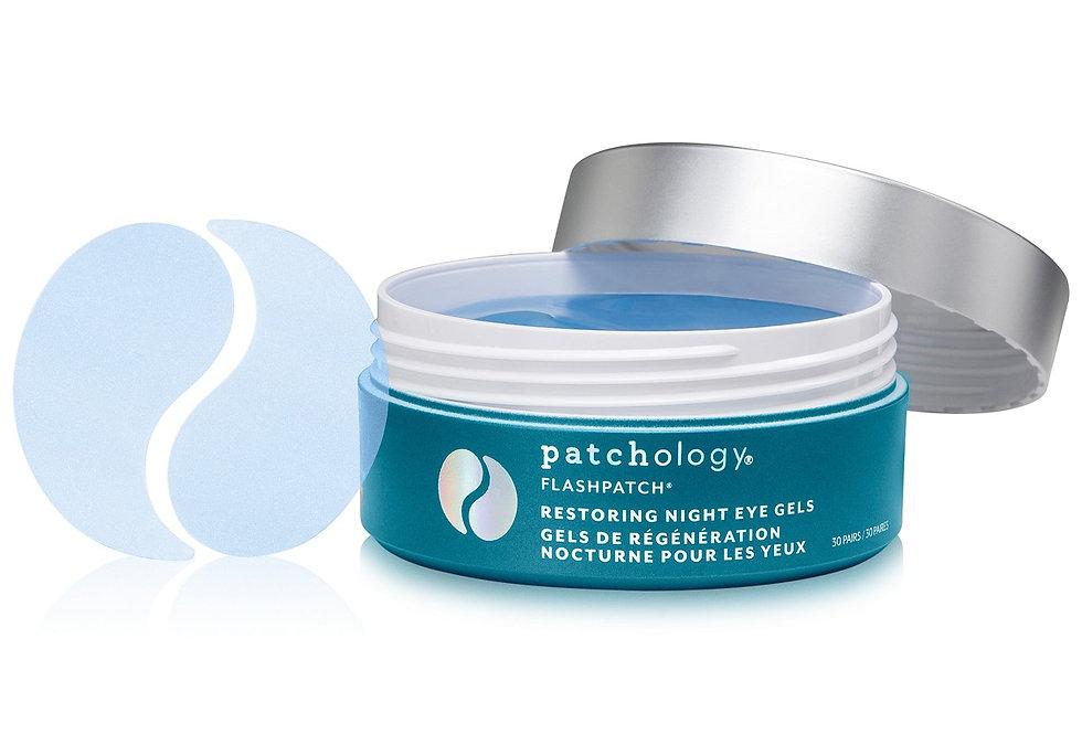 Patchology 30-Ct. FlashPatch Restoring Night Eye Gel Jar