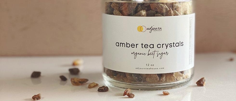 Amber Tea Crystals