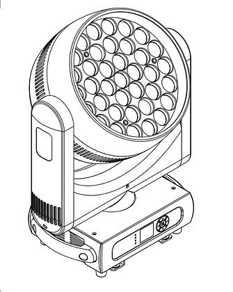 ESTRADA PRO LED MH3715Z