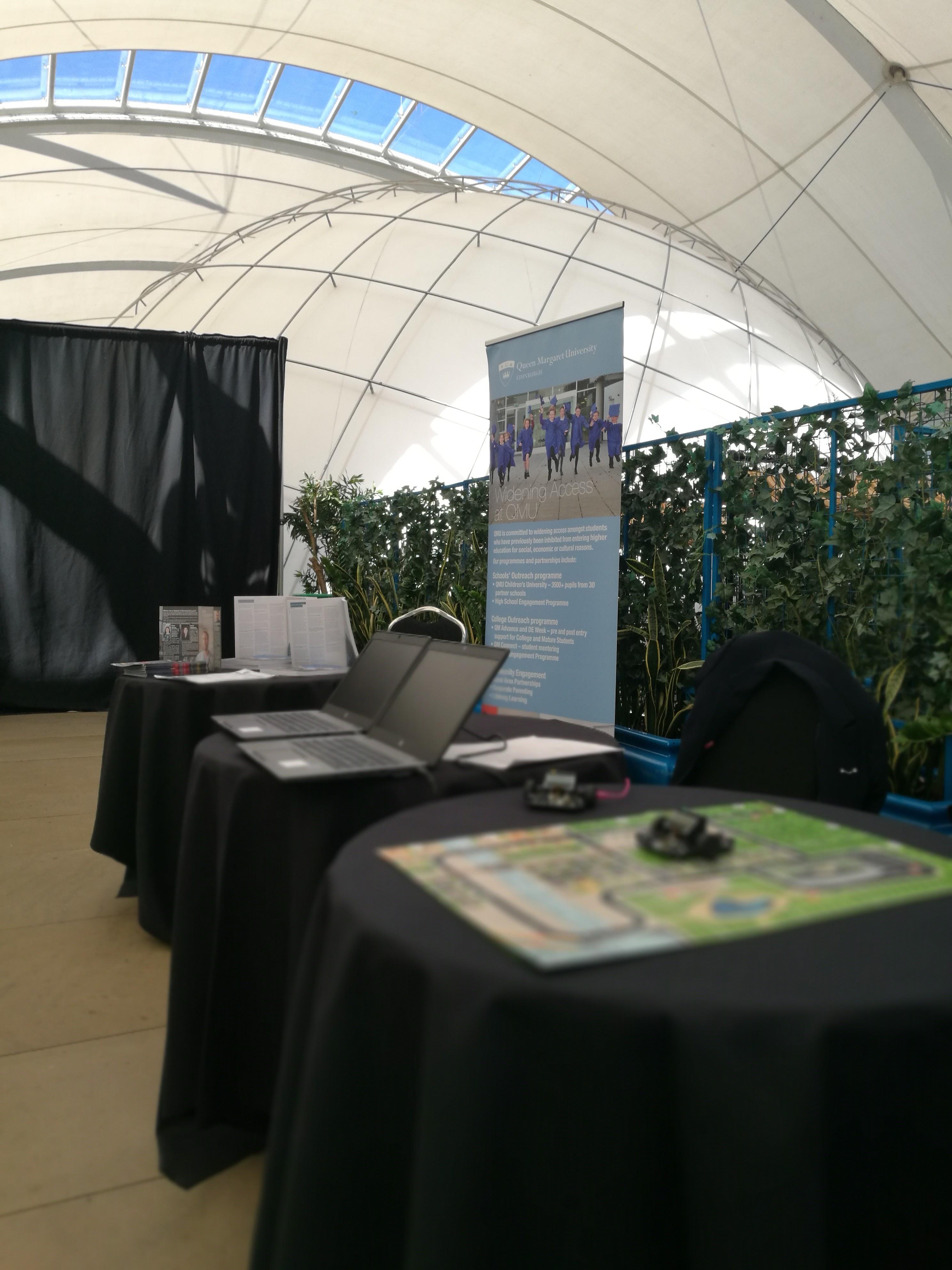 Edinburgh Exhibition Area at Event