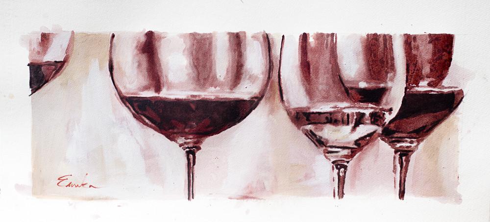 wine glass study 1