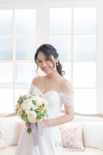 心型胸A-Line婚紗(加紗袖).jpg