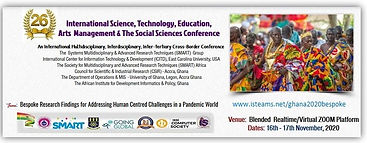 Ghana 2020 Bespoke iSTEAMS Conference  B