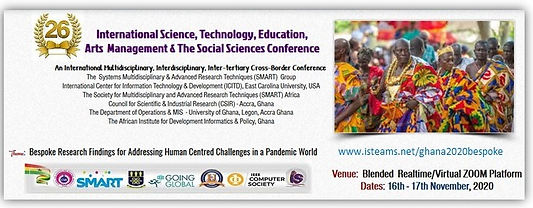 Ghana 2020 Bespoke iSTEAMS Conference  B