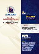 iSTEAMS Proceedings Back Cover.JPG