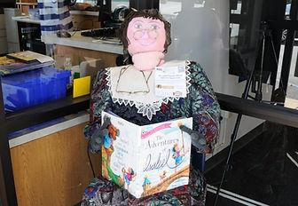 St Louis County Library Scarecrow - Eureka, MO