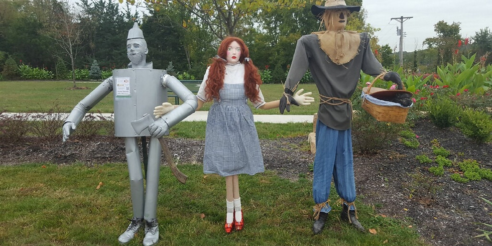 The Invasion of the Scarecrows!