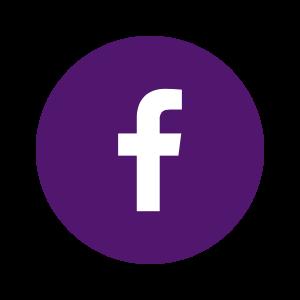 Purple Facebook Icons