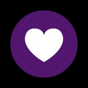 Purple Heart Icons