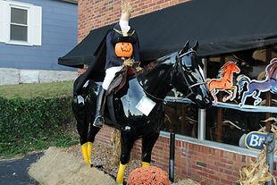 Golden Horseshoe Tac Shop Scarecrow - Eureka, MO