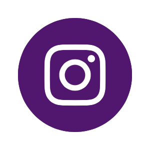 Purple Instagram Icons