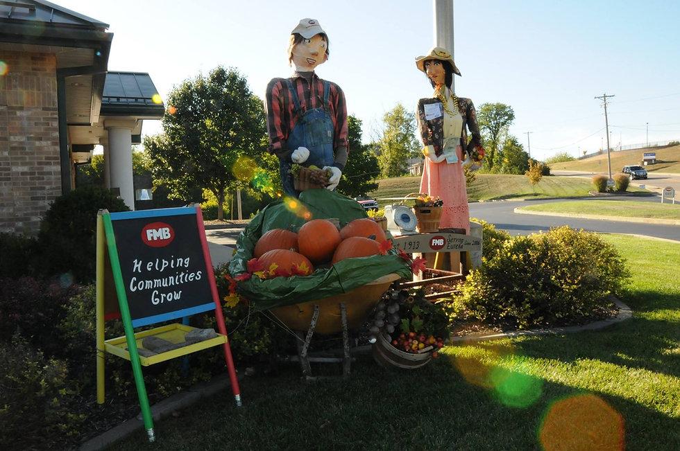 FMB Bank Scarecrow - Eureka, MO