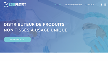 DM CareProtect ( site vitrine )