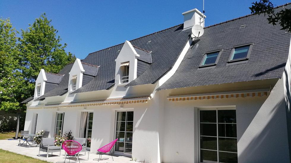 Proche de La Baule : Villa lumineuse de cinq chambres sur le golf de La Baule