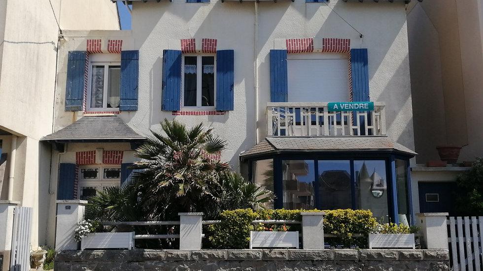Maison de famille du XIX è siècle au Croisic