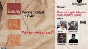 Winners Announced: Essay Writing Contest: 'Reimagining Architecture As A Cognitive Space'