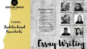 'Architectural Precedents': Essay Writing Contest: Open Call