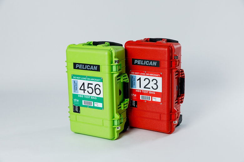 Specialist Test Bags for proving system at major UK airport Terminal.