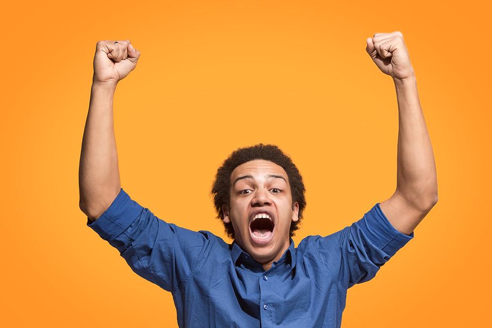 Happy Person - Swansea Marketing - Social Media Specialists - Ouma