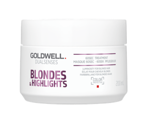 Goldwell Dualsenses Blonde & Highlights Anti-Yellow 60Sec Treatment 200ml