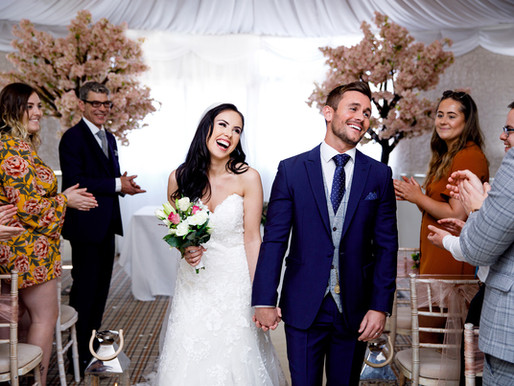 Transitioning your big day into a winter wedding