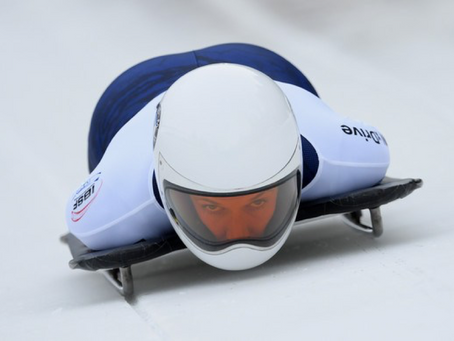 Team USA Skeleton Athlete, Annie O'Shea, shines and signs with EY.