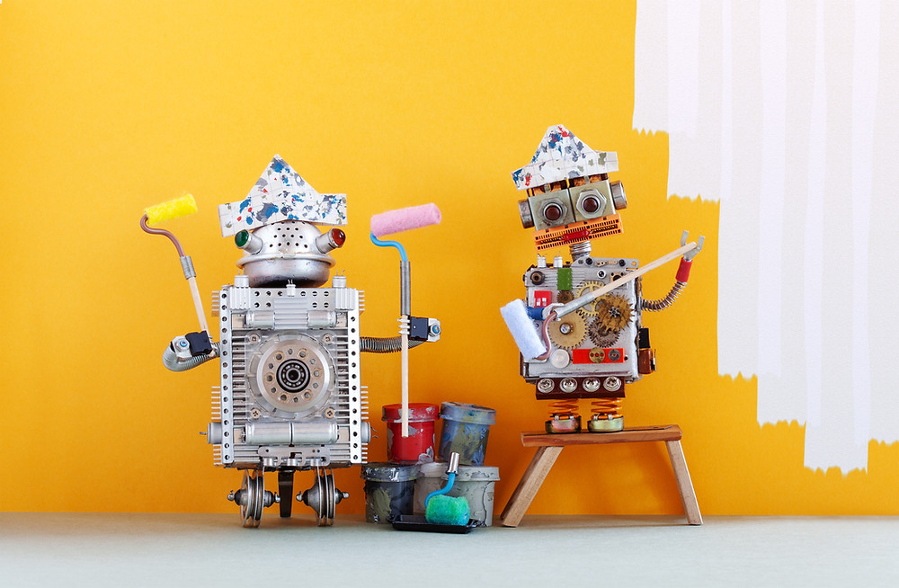 Robots - Swansea Marketing - Social Media Specialists - Ouma