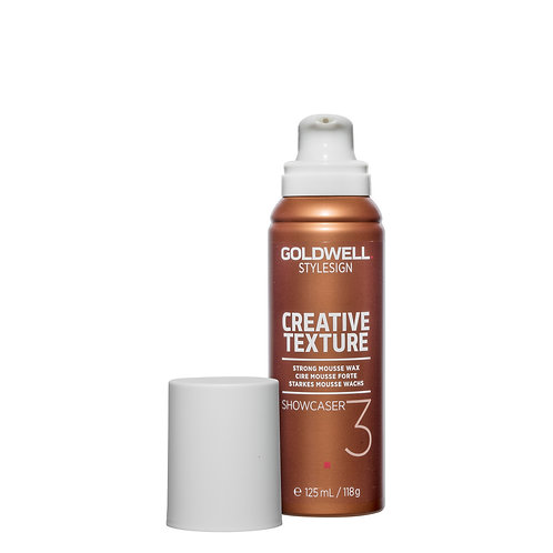 Goldwell StyleSign Creative Texture Showcaser Strong Mousse Wax 125ml