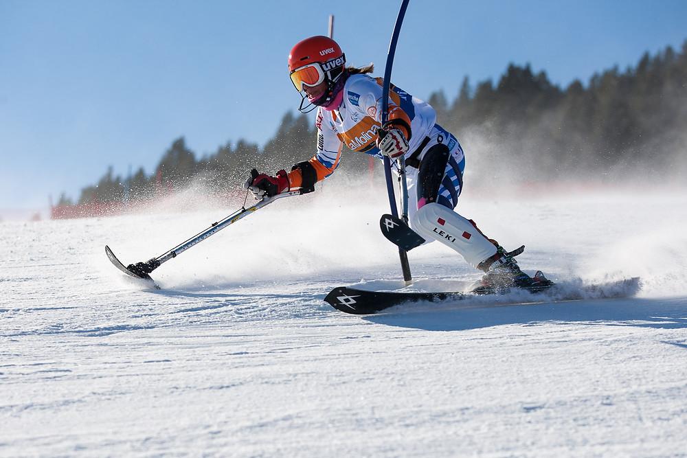 Anna Jochemsen - Alpine Ski Paralympian