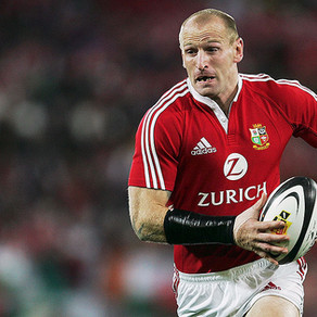 Showing support to our Friend and Welsh Rugby Legend - Gareth Thomas