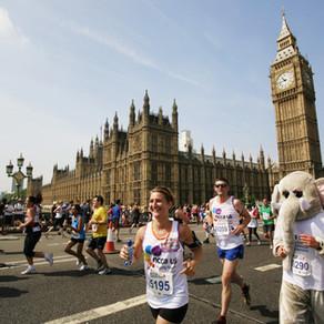 A virtual affair for this years' London Marathon.
