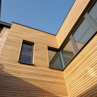 Gevelbekleding Plato behandeld-Project S Melle_Architect Ilse Demedts